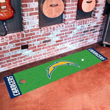 Picture of NFL - Los Angeles Chargers Putting Green Mat