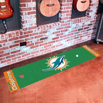 Picture of NFL - Miami Dolphins Putting Green Mat