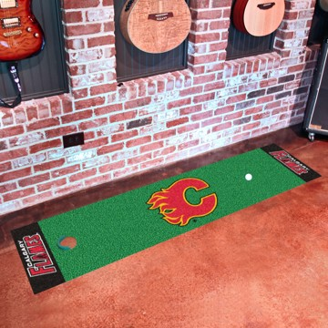 Picture of NHL - Calgary Flames Putting Green Mat