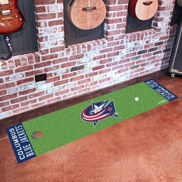 Picture of NHL - Columbus Blue Jackets Putting Green Mat