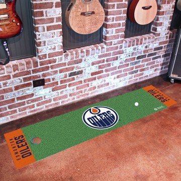 Picture of NHL - Edmonton Oilers Putting Green Mat