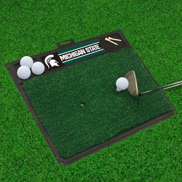 Picture of Michigan State Golf Hitting Mat