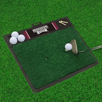 Picture of Mississippi State Golf Hitting Mat