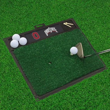 Picture of Ohio State Golf Hitting Mat