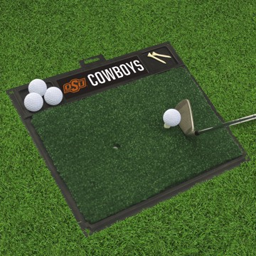 Picture of Oklahoma State Golf Hitting Mat