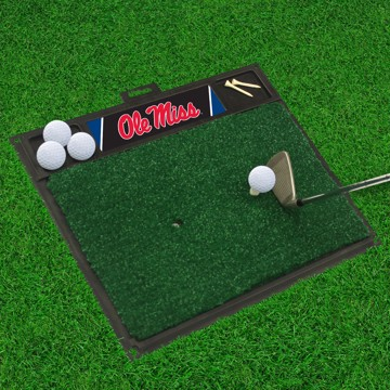 Picture of Ole Miss Golf Hitting Mat