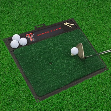 Picture of Texas Tech Golf Hitting Mat