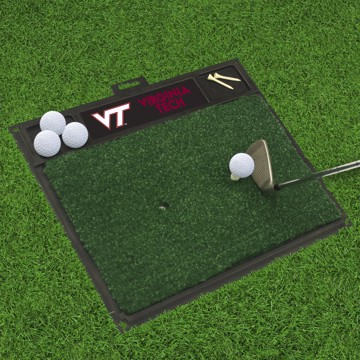 Picture of Virginia Tech Golf Hitting Mat
