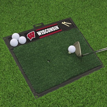 Picture of Wisconsin Golf Hitting Mat