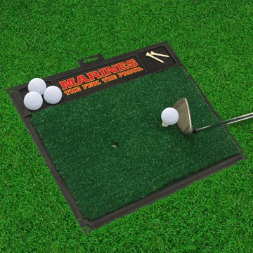 Picture of U.S. Marines Golf Hitting Mat