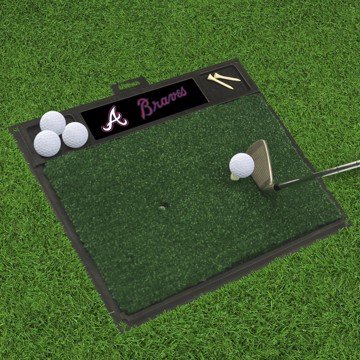 Picture of MLB - Atlanta Braves Golf Hitting Mat