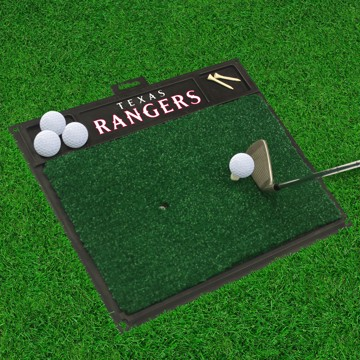 Picture of MLB - Texas Rangers Golf Hitting Mat