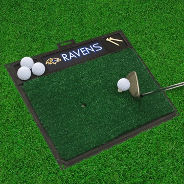 Picture of NFL - Baltimore Ravens Golf Hitting Mat
