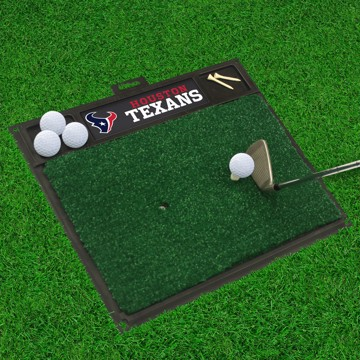Picture of NFL - Houston Texans Golf Hitting Mat