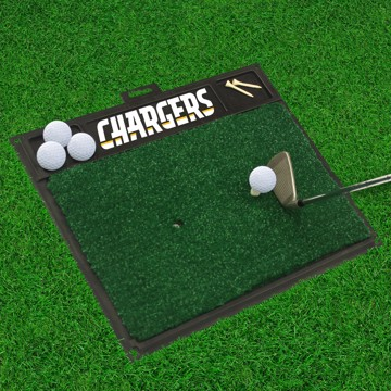 Picture of NFL - Los Angeles Chargers Golf Hitting Mat