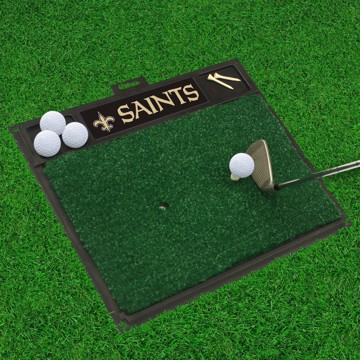 Picture of NFL - New Orleans Saints Golf Hitting Mat