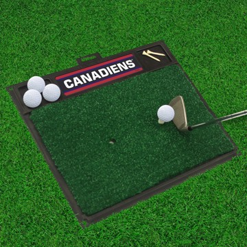 Picture of NHL - Montreal Canadiens Golf Hitting Mat