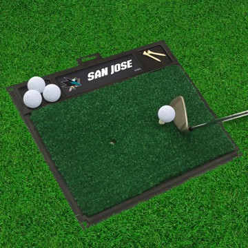 Picture of NHL - San Jose Sharks Golf Hitting Mat
