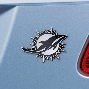 Picture of NFL - Miami Dolphins Emblem - Chrome