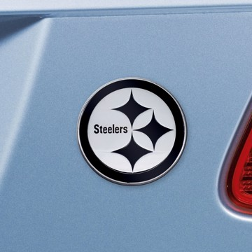 Picture of NFL - Pittsburgh Steelers Emblem - Chrome