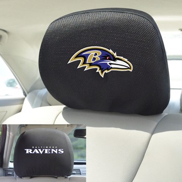 Picture of NFL - Baltimore Ravens Headrest Cover