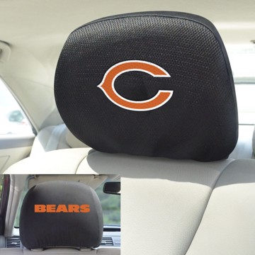 Picture of NFL - Chicago Bears Headrest Cover