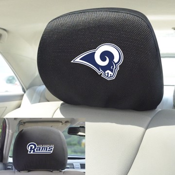 Picture of NFL - Los Angeles Rams Headrest Cover