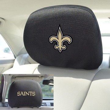 Picture of NFL - New Orleans Saints Headrest Cover