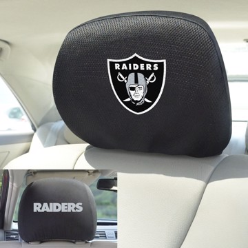 Picture of NFL - Oakland Raiders Headrest Cover