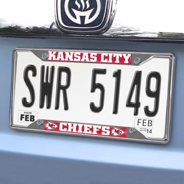 Picture of NFL - Kansas City Chiefs License Plate Frame