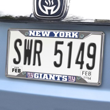 Picture of NFL - New York Giants License Plate Frame