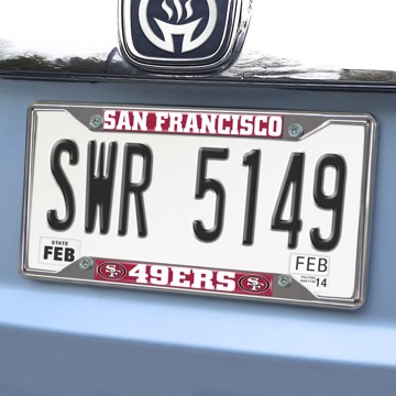 Picture of NFL - San Francisco 49ers License Plate Frame