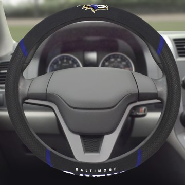 Picture of NFL - Baltimore Ravens Steering Wheel Cover
