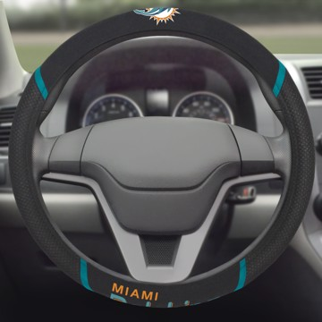 Picture of NFL - Miami Dolphins Steering Wheel Cover