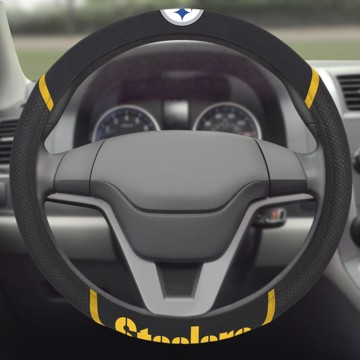 Picture of NFL - Pittsburgh Steelers Steering Wheel Cover