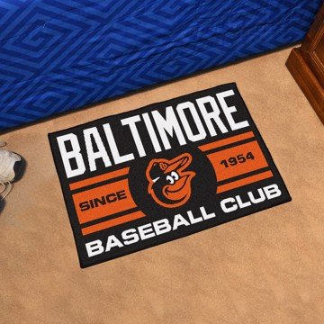 Picture of MLB - Baltimore Orioles Starter Mat