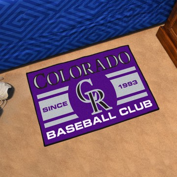 Picture of MLB - Colorado Rockies Starter Mat