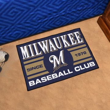 Picture of MLB - Milwaukee Brewers Starter Mat