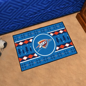 Picture of NBA - Oklahoma City Thunder Holiday Sweater Starter