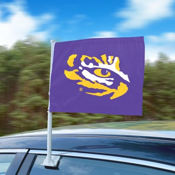 Picture of LSU Car Flag