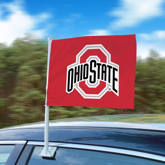 Picture of Ohio State Car Flag