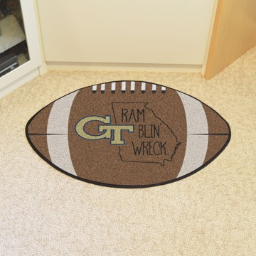 Picture of Georgia Tech Southern Style Football Mat