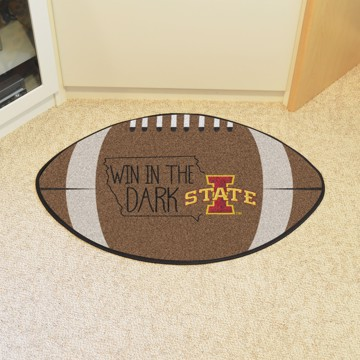 Picture of Iowa State Southern Style Football Mat