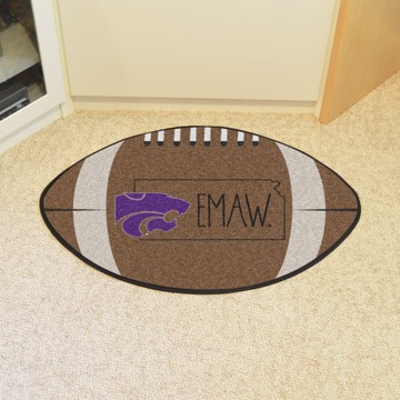 Picture of Kansas State Southern Style Football Mat