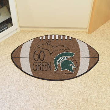 Picture of Michigan State Southern Style Football Mat
