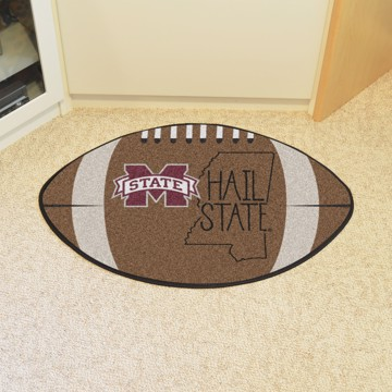 Picture of Mississippi State Southern Style Football Mat
