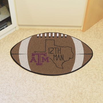 Picture of Texas A&M Southern Style Football Mat
