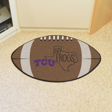 Picture of TCU Southern Style Football Mat