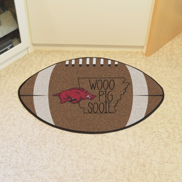 Picture of Arkansas Southern Style Football Mat Rug