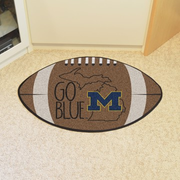 Picture of Michigan Southern Style Football Mat